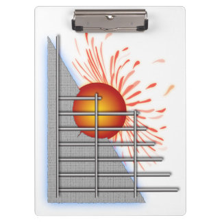 Abstract Sun Clipboards
