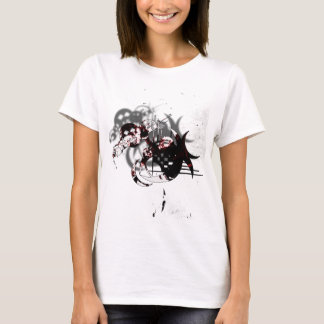 Abstract Thrash Design T-Shirt