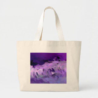 Abstract Tidal Wave Large Tote Bag