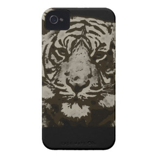 Abstract Tiger iPhone 4 Case-Mate Cases
