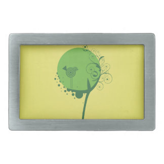 Abstract Tree Belt Buckle