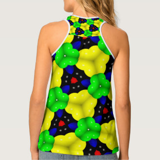 Abstract Triangle Geometrical Multicolored Singlet