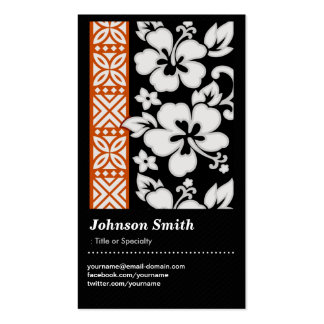 Abstract Tribal Pattern - Elegant and Cute Floral Pack Of Standard Business Cards