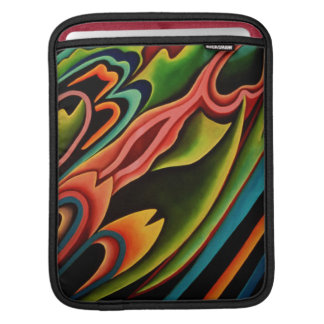 Abstract Tropical Rickshaw iPad Sleeve
