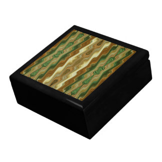 Abstract Vertical Striped Pattern Gift Box