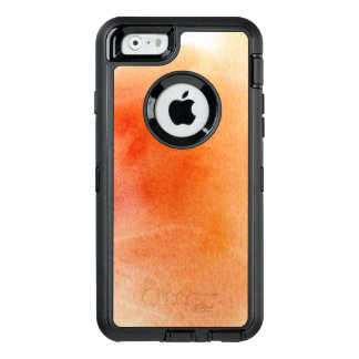 Abstract watercolor hand painted background 15 OtterBox defender iPhone case