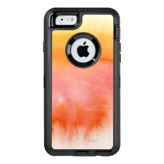Abstract watercolor hand painted background 17 OtterBox defender iPhone case