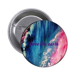 Abstract waterfall badge