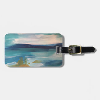 Abstract Waves - Luggage Tag