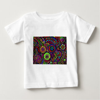 Abstract wheels baby T-Shirt