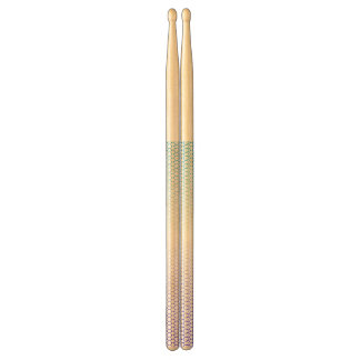 Abstract white&blue drumsticks