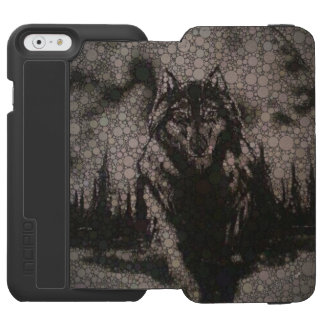 Abstract Wolf Incipio Watson™ iPhone 6 Wallet Case