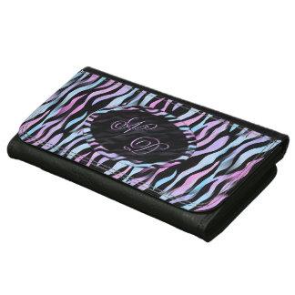 Abstract Zebra Stripes Wallet