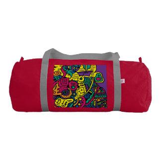 Abstract Zenscrawl Gym Bag