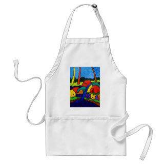 Abstracted Waterfalls A5 Adult Apron