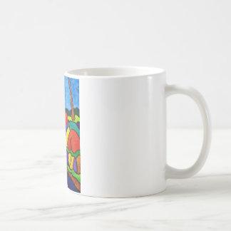 Abstracted Waterfalls A5 Coffee Mug
