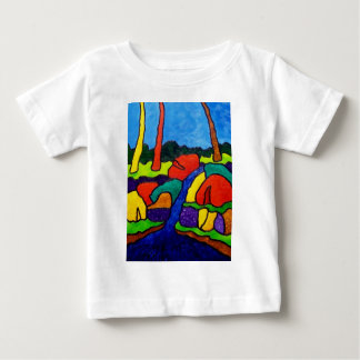 Abstracted Waterfalls A5 T Shirts