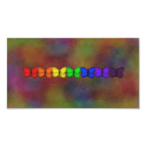 Abstraction of Butterflies Posters