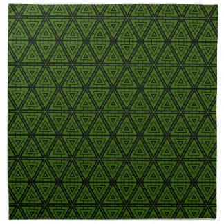 Abtract Design Cloth Napkins