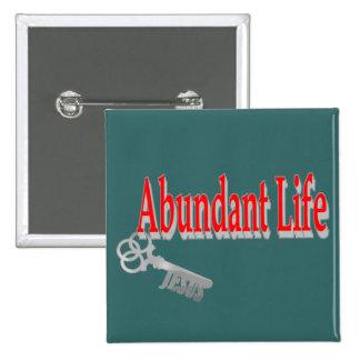 Abundant Life: The Key - v1 (John 10:10) Pin