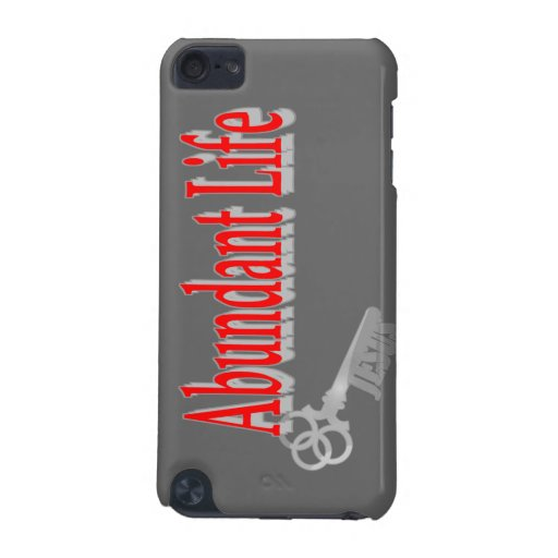 Abundant Life: The Key - v1 (John 10:10) iPod Touch 5G Case