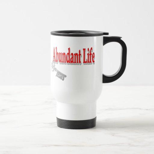 Abundant Life: The Key - v1 (John 10:10) Mugs
