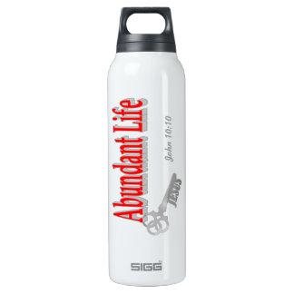 Abundant Life: The Key - v1 (John 10:10) 16 Oz Insulated SIGG Thermos Water Bottle