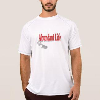 Abundant Life: The Key - v1 (John 10:10) T-Shirt
