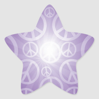 Abundant Peace Customize Product Star Sticker