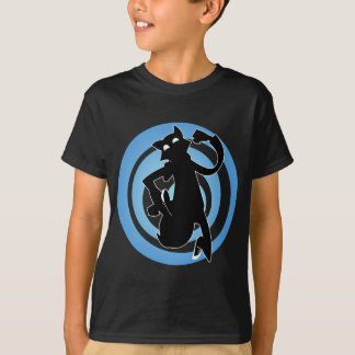 Aby Escape Blue Spiral T-Shirt