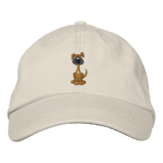 AC- Cute Puppy Dog Embroidered Hat