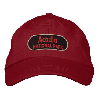 Acadia National Park Embroidered Baseball Cap