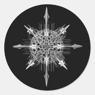 Acanthophracta Classic Round Sticker