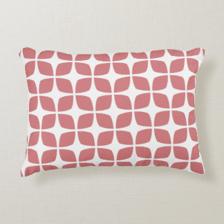 Accent Pillow - Summer Coral Geometric