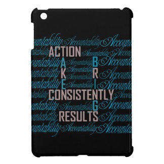 Accountability Word Art Quote iPad Mini Cover