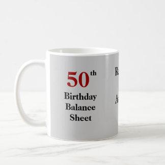 Accountant 50th Birthday Joke Coffee Mug