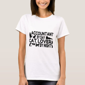 Accountant Cat Lover T-Shirt