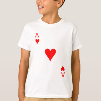 Ace of Hearts (Front) T-Shirt