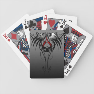 ace of spades tribal playing cards