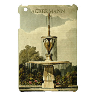 Ackerman Repository Garden Fountain 1820 Case For The iPad Mini