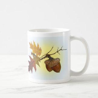 Acorn and Oak Leaves  Coffee Mug