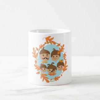 Acorn Nuclear Family Coffee Mug