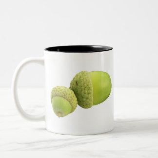 Acorn Two-Tone Coffee Mug