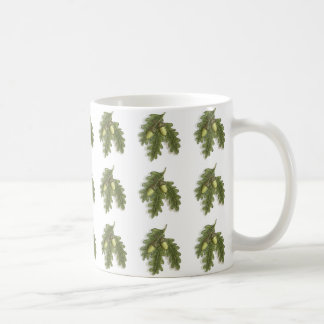 Acorns and Oak Leaves Mug