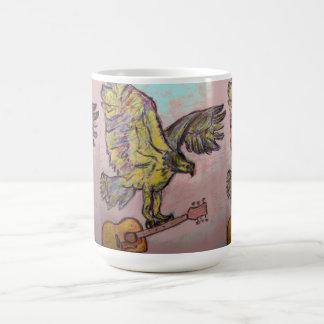 Acoustic Fish Hawk Coffee Mug
