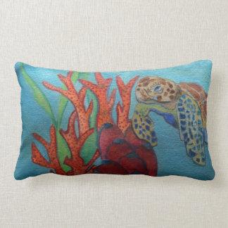acrylic art painting / pillow