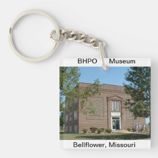Acrylic Key Chain with Historic Museum Photo