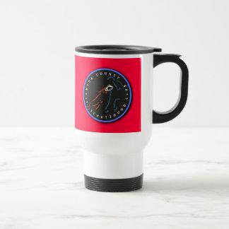 ACSC Stainless Steel Traveler Mug, Red Logo