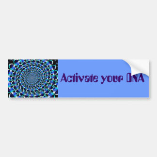 Activate your DNA bumper sticker