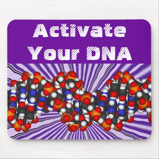 Activate  your  DNA  mousepad